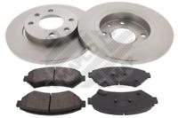 Bremsensatz, Scheibenbremse für Bremsanlage Vorderachse MAPCO 47351