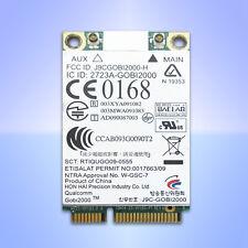 HP Qualcomm UMTS WWAN 3G HSPA Gobi2000 un2420 Elitebook 2540p 8440p 8540p 8540w