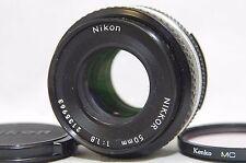 Nikon Nikkor 50mm F/1.8 Ai-S MF Standard Pancake Lens SN2135963 from Japan