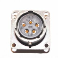 Amphenol Pt2a 14 5s 5 Pin Chassis Mount Circular Connector