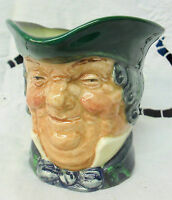 Royal Doulton small character jug PARSON BROWN D5529 1935-1960