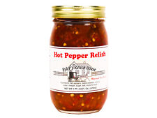 Hot Pepper Relish - Byler's Relish House - 16oz Jar
