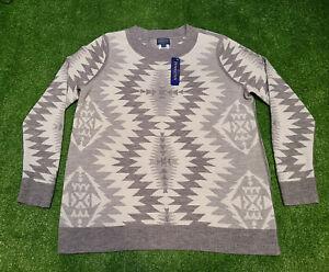 Pendleton Women's Merino Wool Aztec Southwestern Pattern Sweater Size 1X NWT
