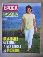 EPOCA n°861 1967 Jacqueline Kennedy Franco Gentilini Svetlana Stalin  [G803]