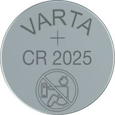 10x CR2025 Lithium Knopfzelle 3V CR 2025 VARTA lose Industriezellen