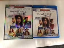 A Wrinkle In Time Disney Bluray 1 Disc Set ( No Digital HD ) Ship Now