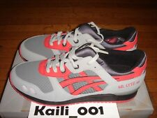 Asics Gel Lyte III Size 13 Super Red RF Ronnie Fieg H00JJ-6521 David Z 2010 B