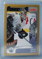 2001-02 Upper Deck Victory #138 Gold Tommy Salo Edmonton Oilers