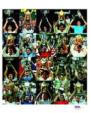 Roger Federer 20 Tennis Championships Signed 8x10 Color Photo PSA