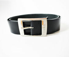 Esprit Original Mens Leather Belt Black