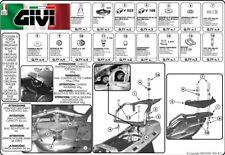 Equipo ataques específico YAMAHA FJR 1300 2001 2002 2003 2004 2005 SR346 GIVI