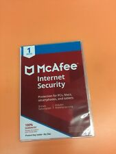 McAfee Internet Security 2019 1 Device 3 Years Subscription Worldwide Activation