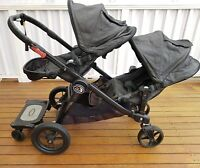 BABY JOGGER CITY SELECT DOUBLE PRAM 2015 with glider board