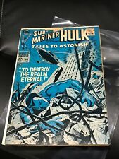 Tales to Astonish #98 (1967) Marvel  Comic Book Sub-Mariner Hulk B86