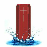 Logitech UE Megaboom Bluetooth Water-proof Speaker with Travel Carry Case Red