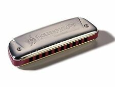 HOHNER GOLDEN MELODY TREMOLO  2416 HARMONICA KEY OF F MADE IN GERMANY NEW