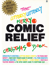 The Utterly Utterly Merry Comic Relief Christmas Book - Adams, Fry, etc. - VGC+