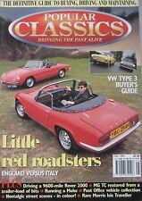 Popular Classics magazine 05/1995 featuring VW, MG, Alfa Romeo, Lotus, Mini Moke