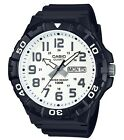 Casio Watch * MRW210H-7AV Diver Look XL 100WR White Face Black Strap COD PayPal <br/> SPECIAL OFFER! Nationwide COD Free Ship Meet Up PayPal