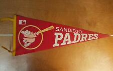 "Vintage 1969 San Diego Padres Baseball Team Pennant Felt MLB First Year! 29"""