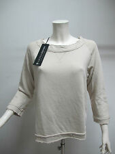EUROPEAN CULTURE felpa donna art.45R0 col.BEIGE tg.M estate 2013