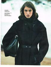 PUBLICITE ADVERTISING  2013   ISABEL MARANT   haute couture