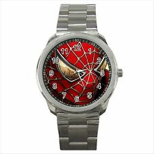 NEW* HOT SPIDERMAN Quality Sport Metal Wrist Watch Gift