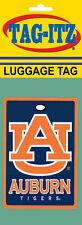 Auburn Tigers Luggage Tag