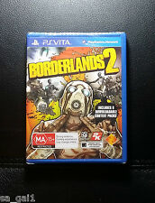 Borderlands 2 NEW / SEALED (PlayStation Vita, 2014) PSVITA PS VITA - FREE POST