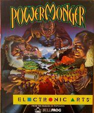 Powermonger (Bullfrog) Commodore Amiga (Box, Quick-Ref, Game )