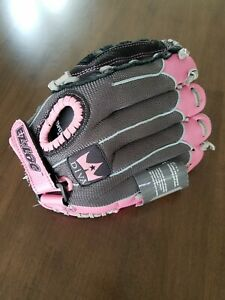 "Louisville Slugger Leather Softball Glove Diva 11"" Pink Black NEW,FREE SHIPPING!"
