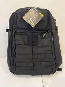 5.11 Tactical RUSH24 Military Backpack, 37 Liter Medium, Style 58601, Black