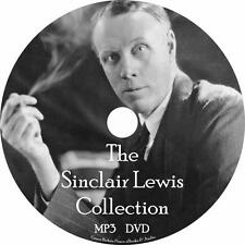 Sinclair Lewis Audiobook Collection English on 1 MP3 DVD Air Main St. Free Ship