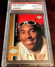 1996 Upper Deck #58 - Kobe Bryant (RC) - PSA 10 - Gem Mint !!
