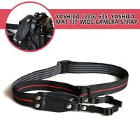 Adjustable Yashica Mat Fit Wide Camera Strap Neck Strap for Yashica124G, 635
