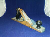 "Vintage Stanley Handyman Jack Plane 14"" Long, 2"" Cutter, Made In U. S. A."