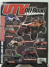 UTV Off Road Magazine Side by Side Buyer's Guide Mar Apr 2016 FREE SHIPPING JB