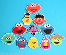 Sesame Street Cake Decorations 11 Toppers Party Favours Toys Shoe Charms NEW