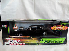 The Fast and the Furious 1970 Dodge Charger 1:24 Die Cast incl. Dom Toretto Figu
