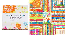 "Snap Pop 5"" CHARM PACK / Quilt Squares Moda Fabric by Sandy Gervais"