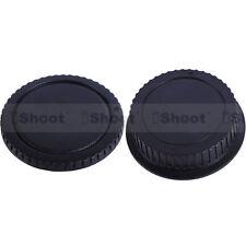 New Style Protector Body Cover+Rear Cap fr Canon EOS Digital Camera&EF EF-S Lens