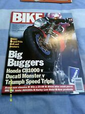 BIKE (aug 1994)CB1000/Ducati Monster/Speed Triple/Rgv250/RD250LC/Cagia Mito125