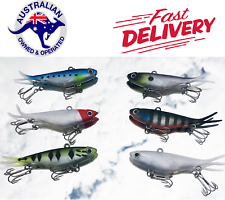 6 Soft Plastic Vibe Transam Fishing Lures Tackle 95mm Barra Snapper Kingfish