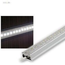 LED ALU Lichtleiste 1m WEISS IP65 LEDs Leiste Stripe Küchenlampe Unterbaulampe