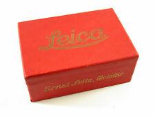 LEICA Model III Leitz red box OVP Lydrochrom Verpackung original TOP + RARE /19K
