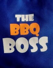 'The BBQ Boss' Apron - Unisex/One Size Fits All - New/Sealed