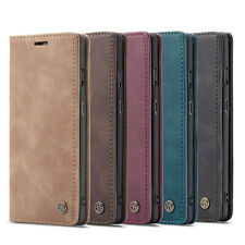 For iPhone 12 Mini Pro Max Samsung S20 Luxury Caseme Leather Flip Wallet Cover