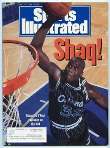 SI: Sports Illustrated November 30, 1992 Shaquille O'Neal, Basketball, Magic, VG