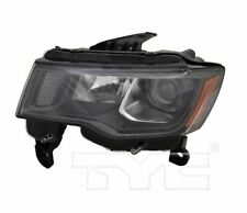 TYC NSF Left Halogen Headlight For Jeep Grand Cherokee Black 2017-2019 Models