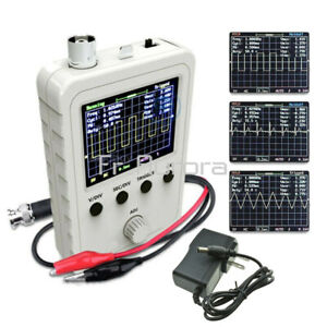 Assembled DSO150 Digital Oscilloscope 2.4 inch LCD Display with Clip + Power